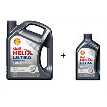 huile moteur shell helix ultra ap l 5w30 essence et diesel 5 l 1 l. Black Bedroom Furniture Sets. Home Design Ideas