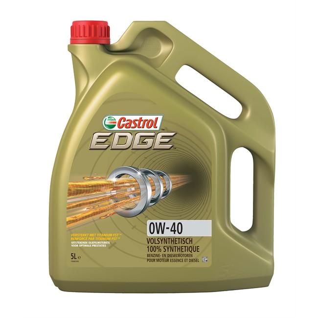 Huile Moteur Castrol Edge 0w40 Essence Et Diesel 5 L