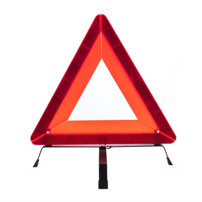 1 triangle de signalisation compact pliable. Black Bedroom Furniture Sets. Home Design Ideas