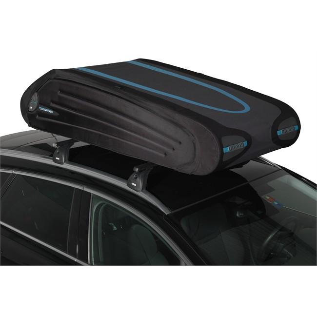 coffre de toit pliant norauto bermude 5700 flex noir 570 l