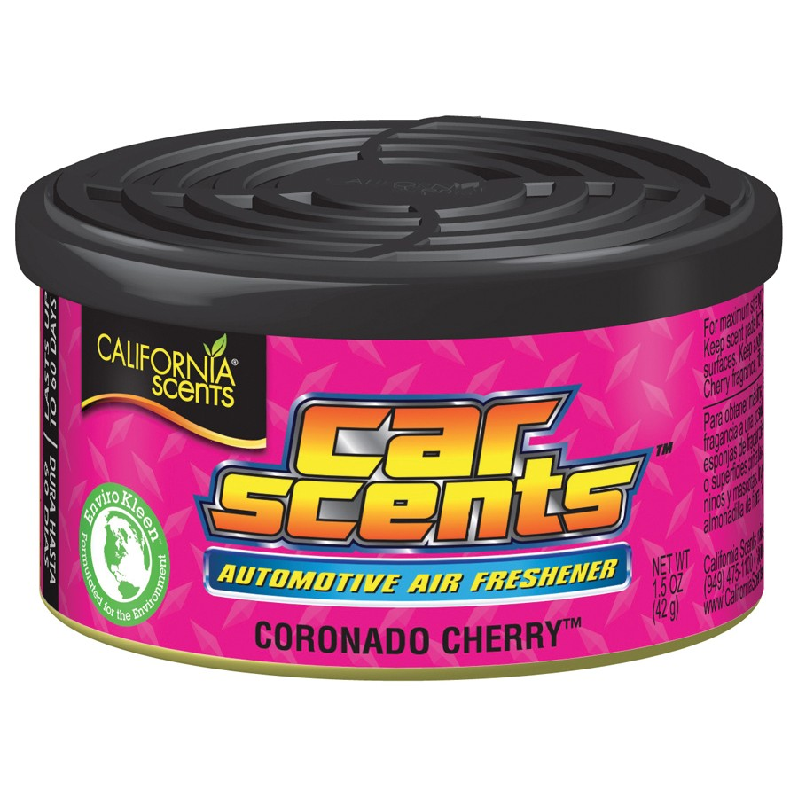 Désodorisant voiture CALIFORNIA SCENTS Car Scents Coronado Cherry