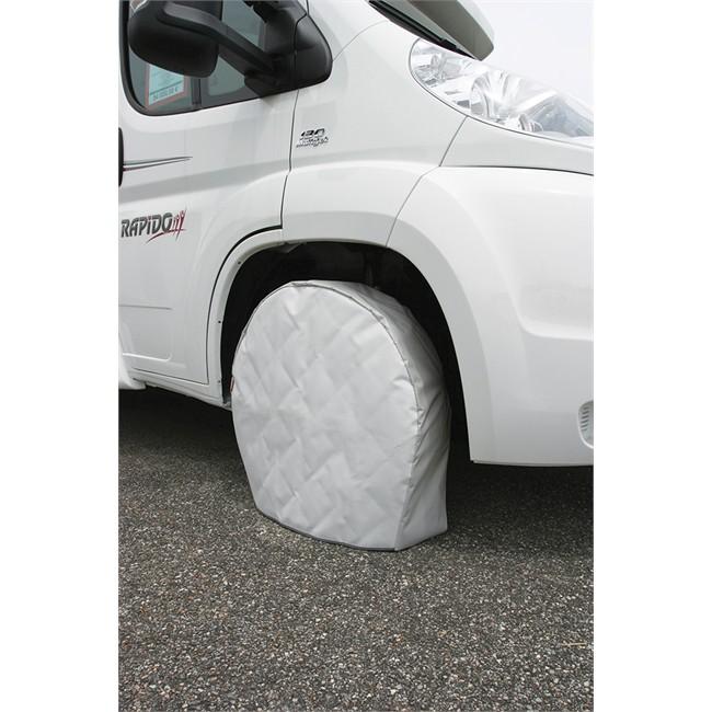 2 housses de protection de roue en pvc soplair - Housse de barre a roue ...