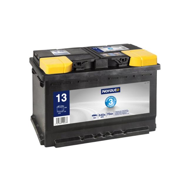 Batterie NORAUTO BV13 70 Ah 640 A :
