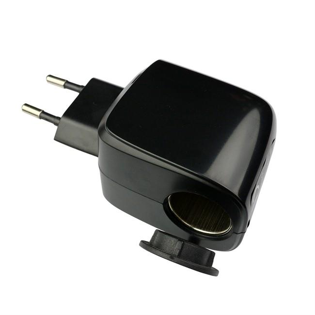 convertisseur 230v 12v 12w 1a norauto. Black Bedroom Furniture Sets. Home Design Ideas