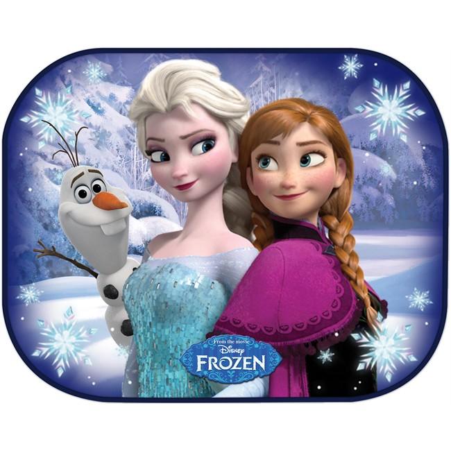 2 rideaux pare soleil ventouses lat raux disney la reine - Reine de neige 2 ...