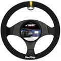 Couvre volant en microfibre type rally SRACING