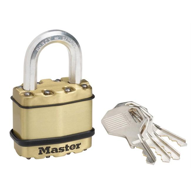 Cadenas à clé acier 45 mm MASTERLOCK Excell M1 EURB   Norauto.fr 345cb75e917