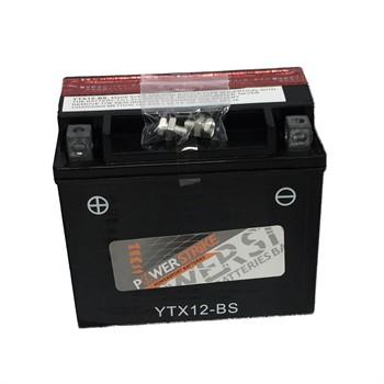 batterie moto power strike ytx12 bs. Black Bedroom Furniture Sets. Home Design Ideas