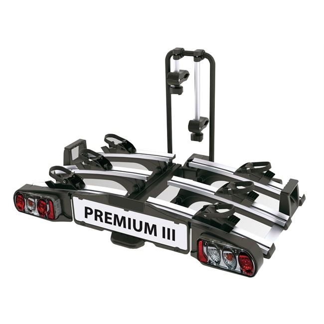 Porte-vélos D'attelage Plate-forme Eufab Premium 3 11522 Pour 3 Vélos Compatible Vélos Électriques