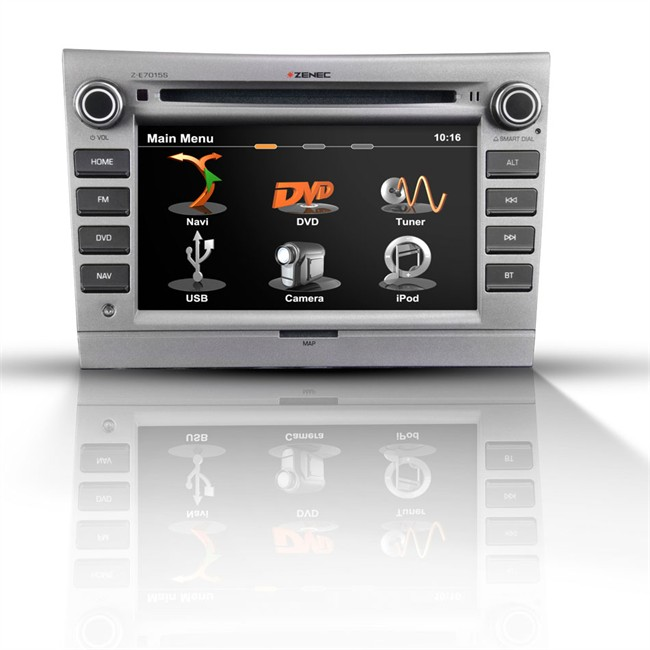 autoradio gps zenec z e7015s pour porsche. Black Bedroom Furniture Sets. Home Design Ideas