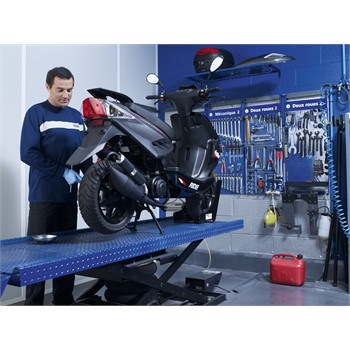 Diagnostic d'éléments de sécurité scooter