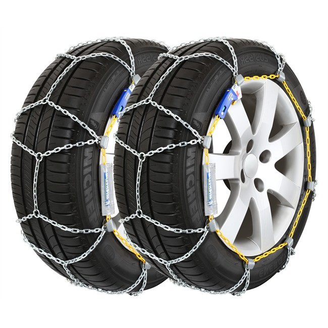 2 Chaines Neige Michelin Elastic Chain Mi40 Norauto Fr