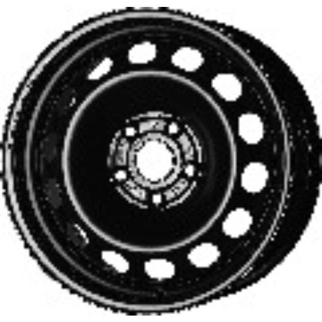 Jante Tôle 16 Pouces - 5 Trous - 7x16 5x112 Et40 Al57.1