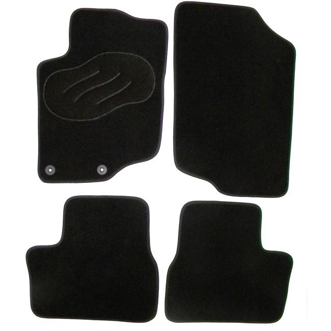 jeu complet de tapis sur mesure noir en moquette norauto norauto fr