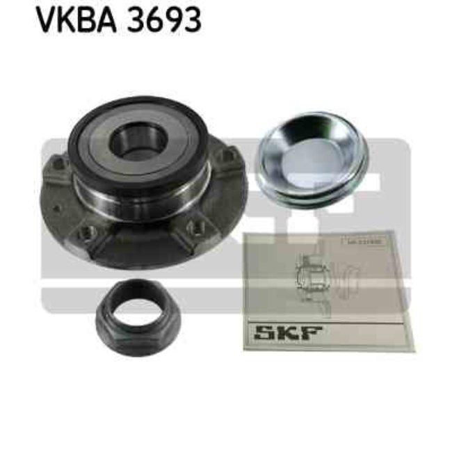 kit de roulement de roue skf vkba3693. Black Bedroom Furniture Sets. Home Design Ideas