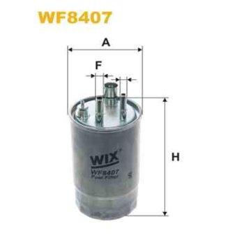 filtre carburant wix wf8407. Black Bedroom Furniture Sets. Home Design Ideas