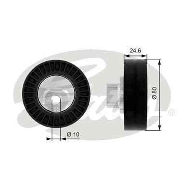 galet tendeur de courroie d 39 accessoires gates r f t38069. Black Bedroom Furniture Sets. Home Design Ideas