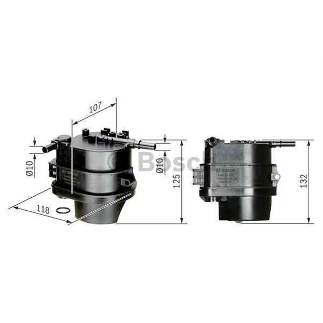 filtre carburant bosch 0450907007. Black Bedroom Furniture Sets. Home Design Ideas