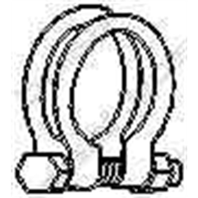 collier chappement bosal 250 547. Black Bedroom Furniture Sets. Home Design Ideas