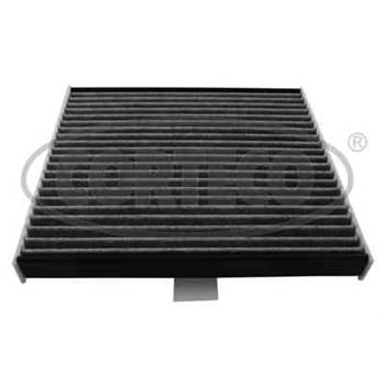 filtre d 39 habitacle charbon actif corteco cc1487. Black Bedroom Furniture Sets. Home Design Ideas