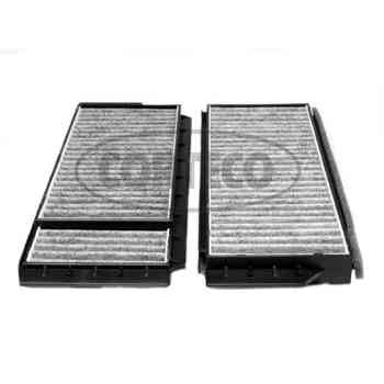 filtre d 39 habitacle charbon actif corteco cc1204. Black Bedroom Furniture Sets. Home Design Ideas