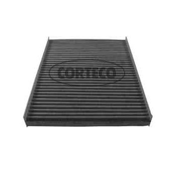 filtre d 39 habitacle charbon actif corteco cc1433. Black Bedroom Furniture Sets. Home Design Ideas
