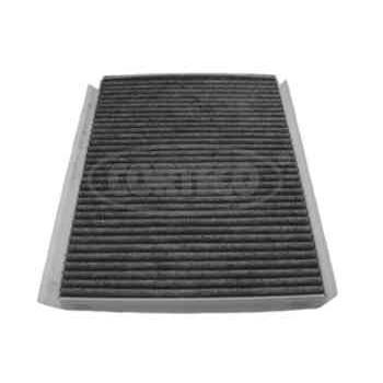 filtre d 39 habitacle charbon actif corteco cc1136. Black Bedroom Furniture Sets. Home Design Ideas