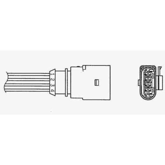 Sonde Lambda Ngk Oza510-v16