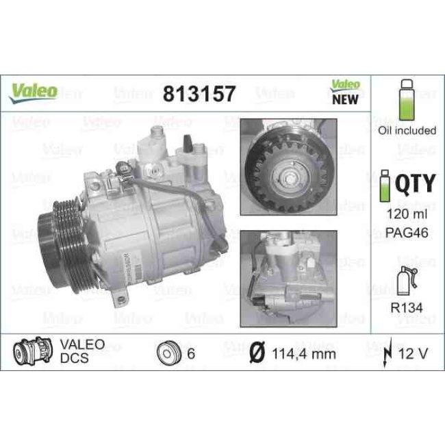 Valeo 813157 Compresseur climatisation