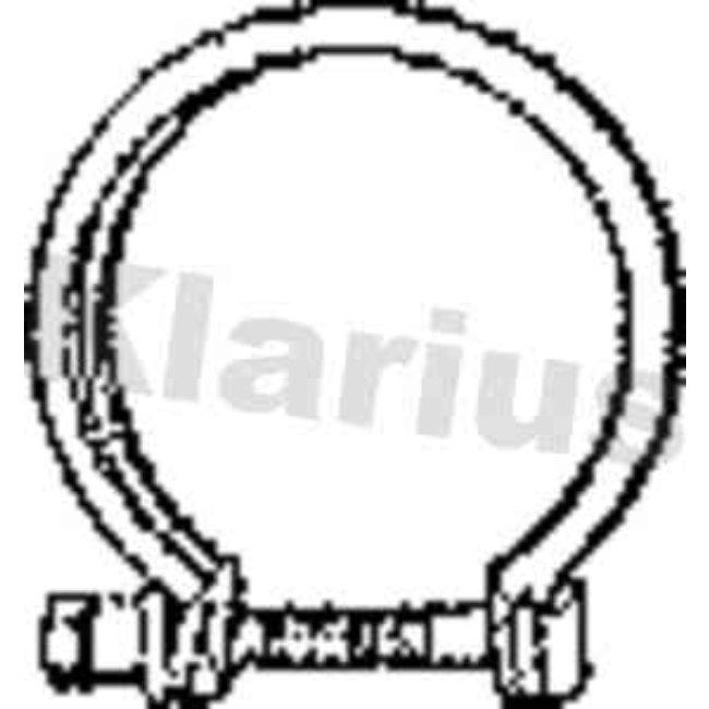 Autres Accessoires Échappement Klarius 430365