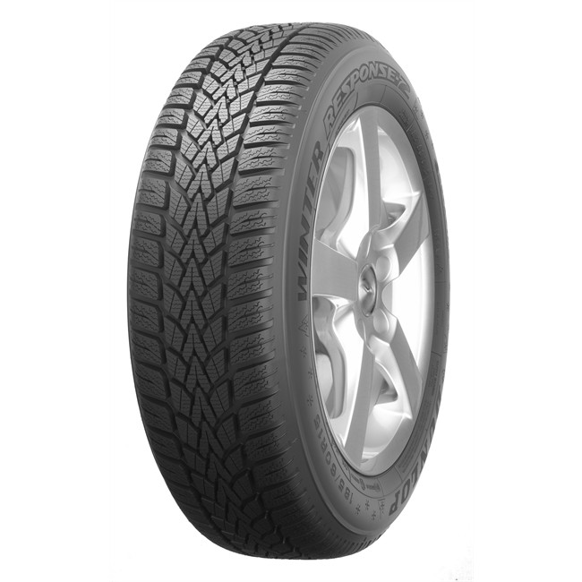Pneu - Voiture - WINTER RESPONSE 2 - Dunlop - 195-65-15-91-T